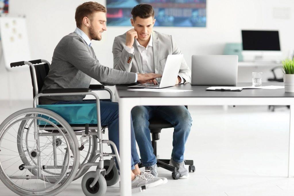 niepełnosprawni praca